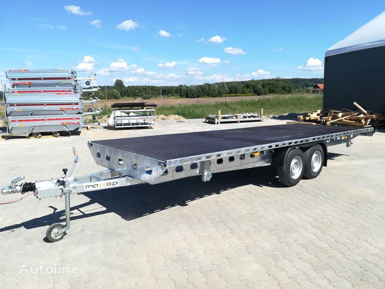 nový přívěs platforma Platform trailer 600x195 gvw 2700kg