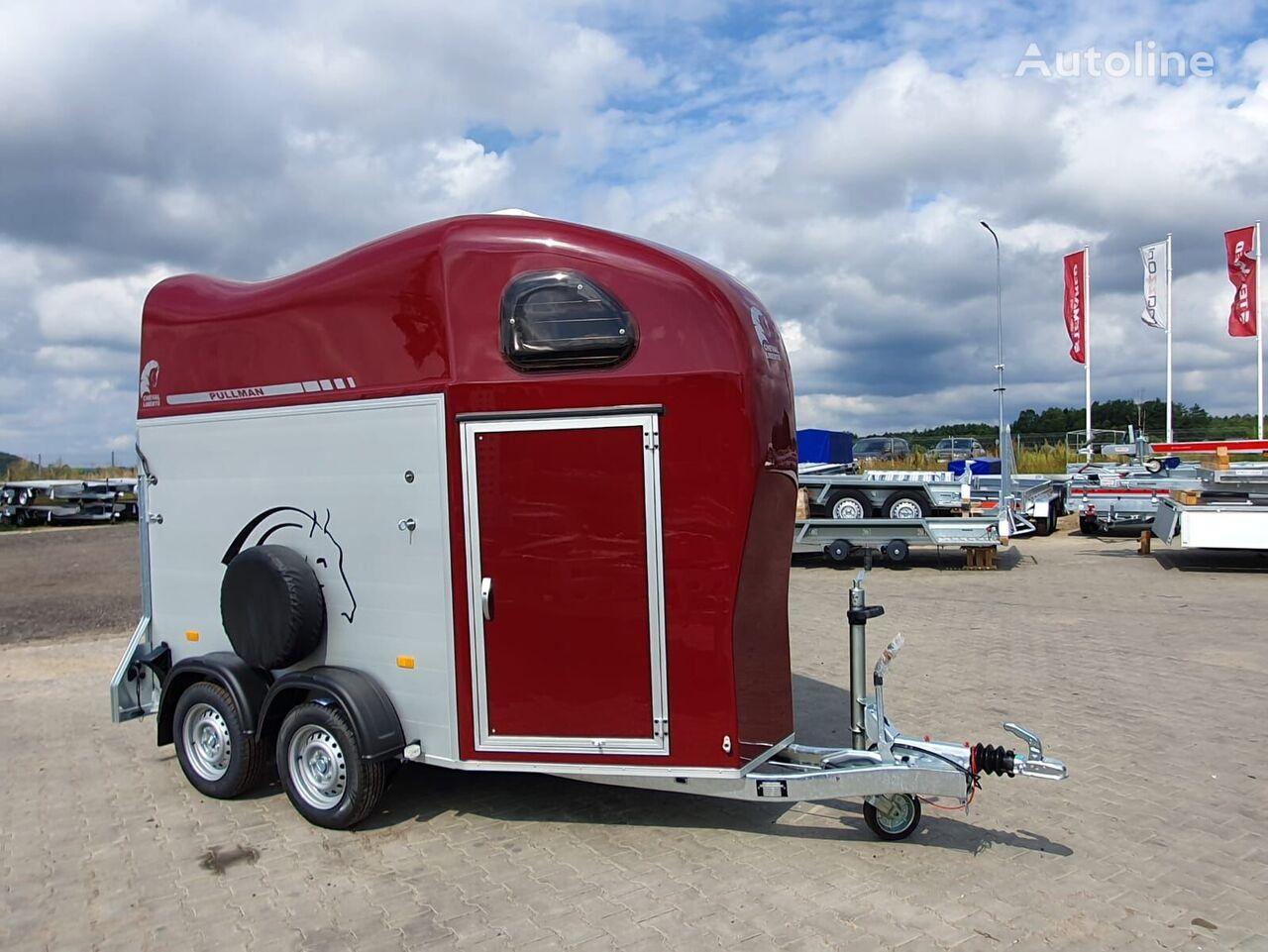 nový přívěs pro přepravu koní Cheval liberte Gold 1 one horse trailer