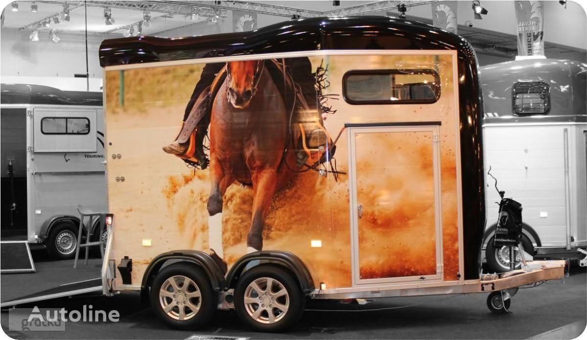 nový přívěs pro přepravu koní Cheval liberte PRZYCZEPA do przewozu koni z przednim wyjściem Gold Touring