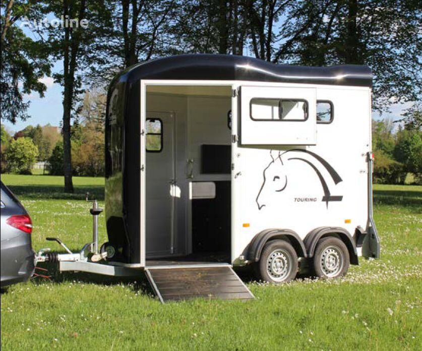 nový přívěs pro přepravu koní Cheval liberte Touring + saddleroom