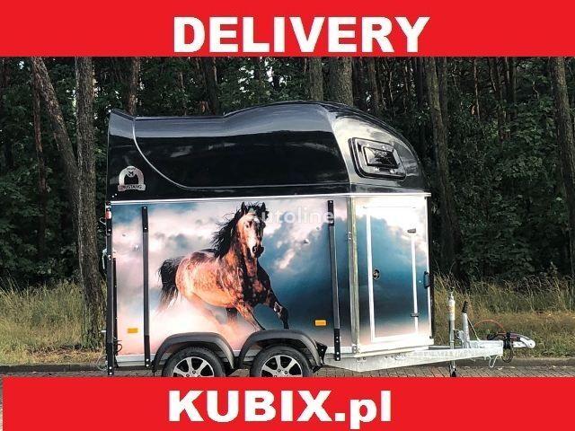 nový přívěs pro přepravu koní KUBIX Mustang Strong LaminaX