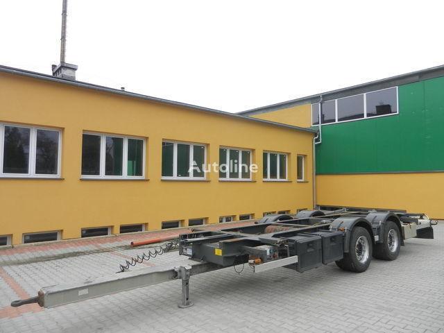 přívěs pro přepravu kontejnerů H&W Przyczepa kontenerowa
