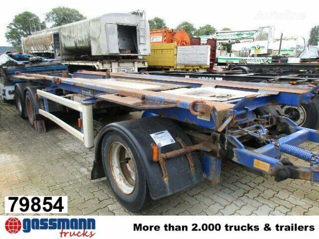 přívěs pro přepravu kontejnerů HÜFFERMANN HMA 2420 Absetzcontainer für 2 x Container