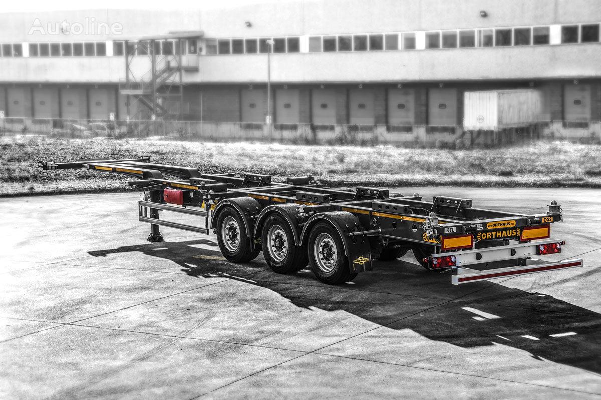 nový přívěs pro přepravu kontejnerů ORTHAUS CGS010