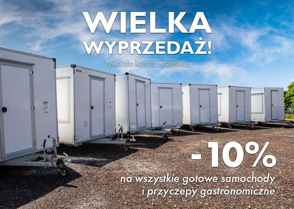 nový přívěs různé BANNERT Przyczepa gastronomiczna 3,0 M
