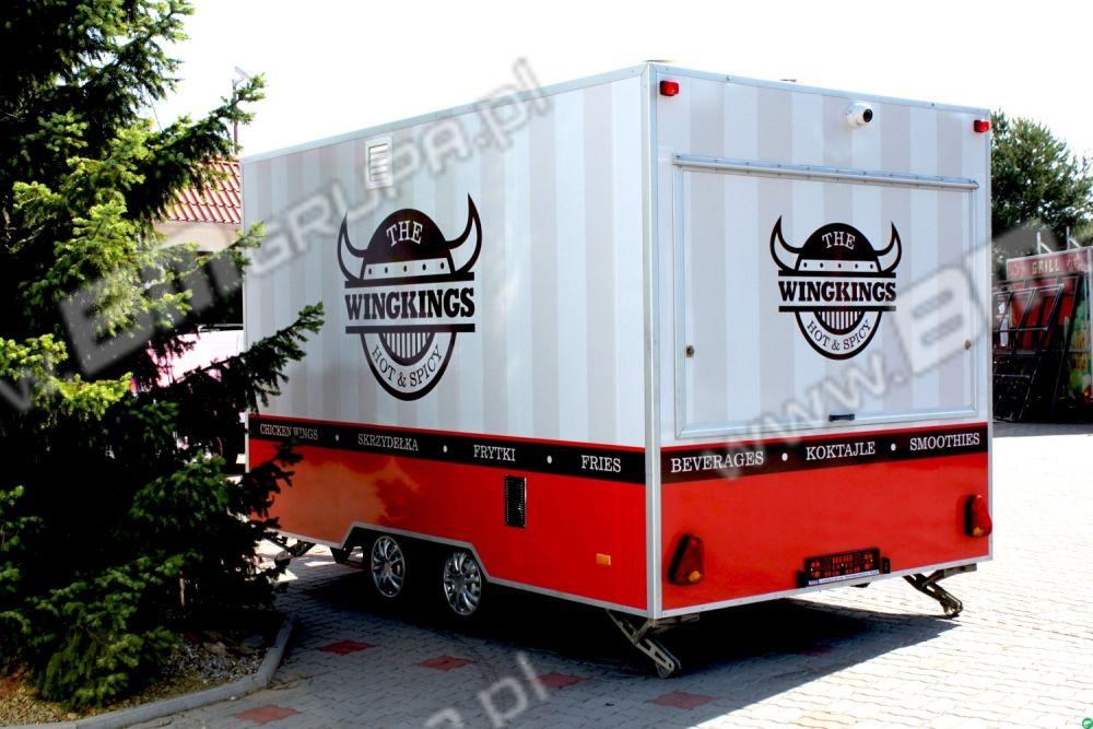 nový přívěs různé BMgrupa Catering trailers, kurczak z rożna,Verkaufsanhänger