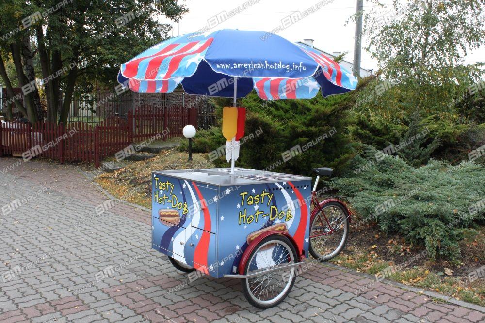 nový přívěs různé BMgrupa catering bike, do sprzedaży hot-dogów,Verkaufsfahrrad