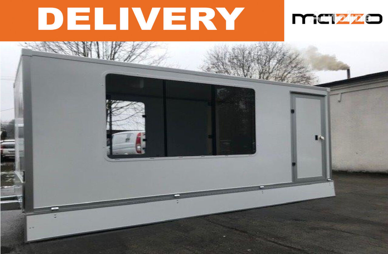 nový přívěs různé Kiosk trailer 420x180x190 mm