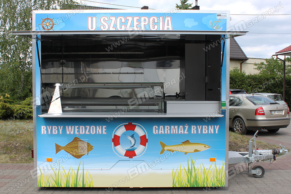 nový přívěs různé NIEWIADOW vending trailers, przyczepa gastronomiczna do sprzedaży ryb,