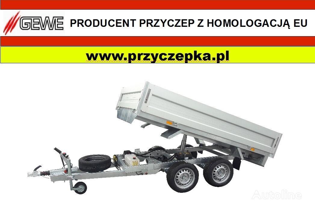 nový přívěs sklápěč GEWE Kiper 3 stronny  - P3500 F/3