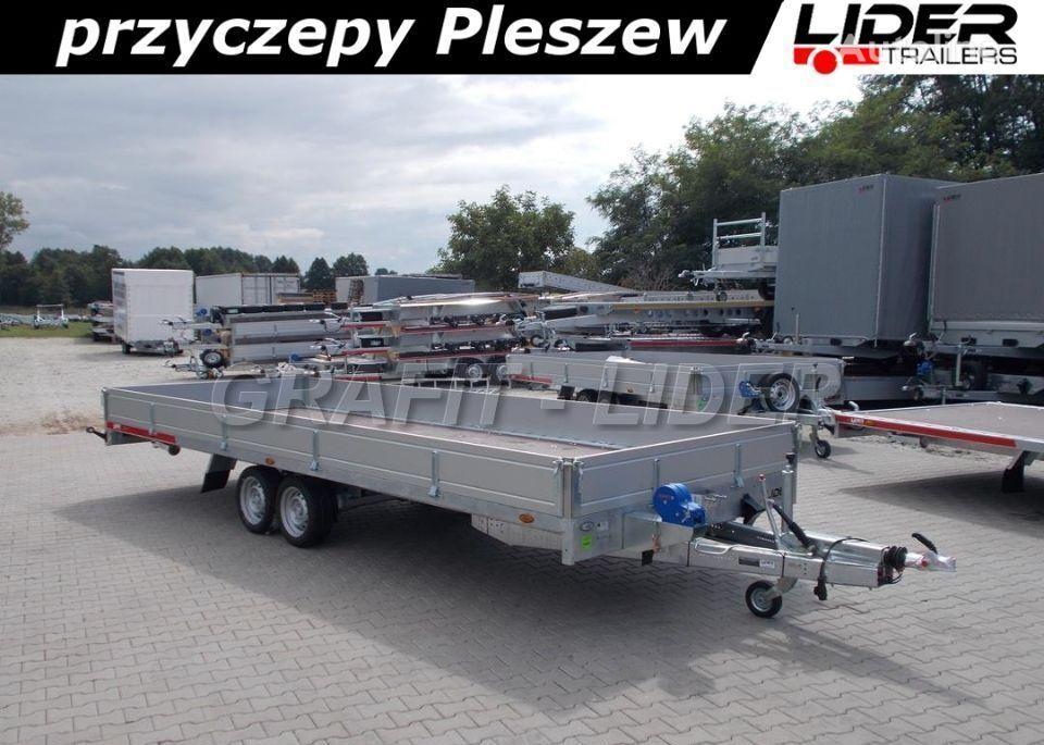 nový přívěs valník temared TM-171 przyczepa 588x211x30cm, Carplatform 6021S, laweta