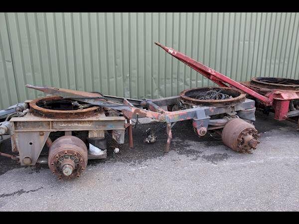 přívěs vozík dolly BPW
