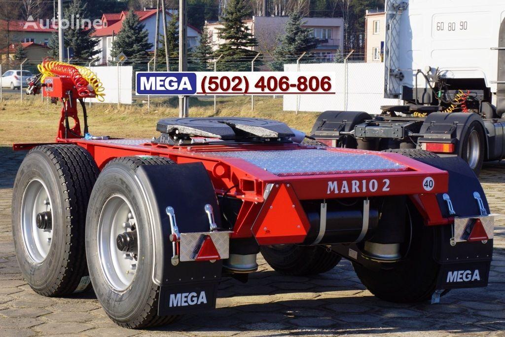 nový přívěs vozík dolly MEGA 2 AXLES / DOLLY TRAILER MARIO 2 -! NOW ! EU COC & REGISTRATION !