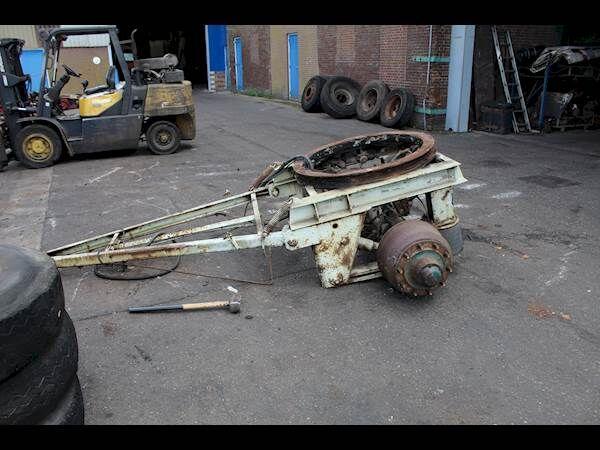 přívěs vozík dolly SAF