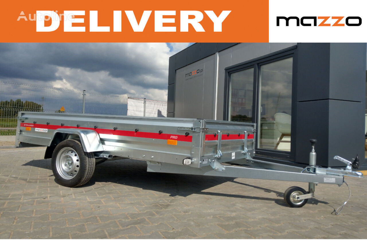 nový vozík za auto 263x135 GVW 750kg! P2612R Leaf spring