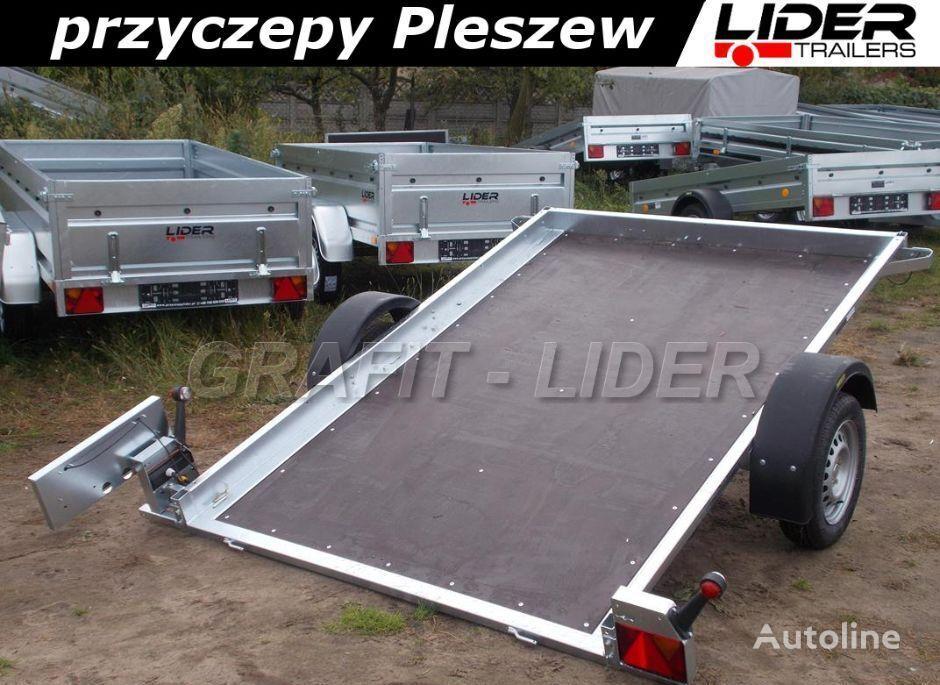 nový vozík za auto NEPTUN NP-079 przyczepa 255x166x10cm, N7-255 MULTI, lekka, platforma wi