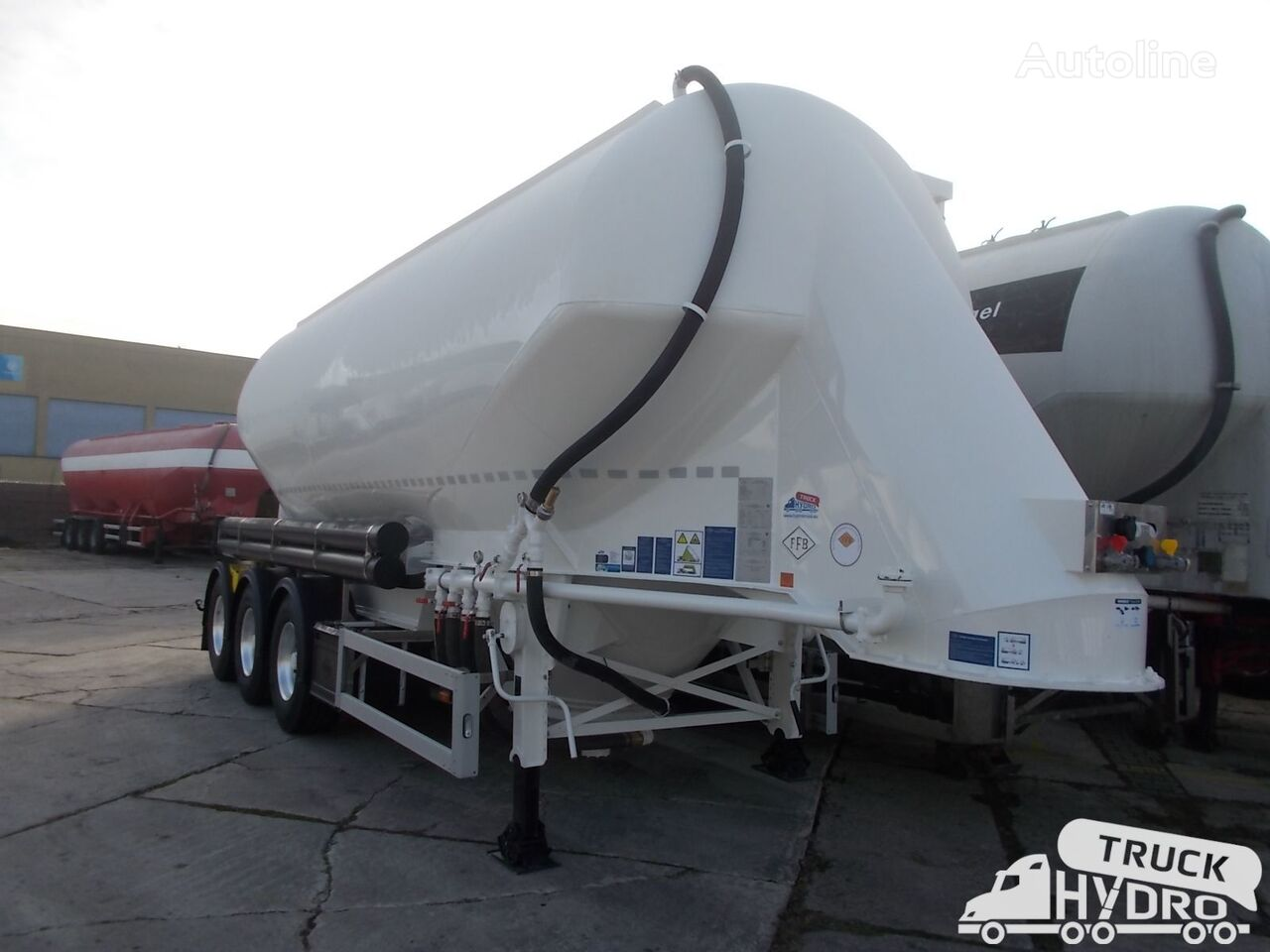 silo cisterna FELDBINDER EUT 37.3