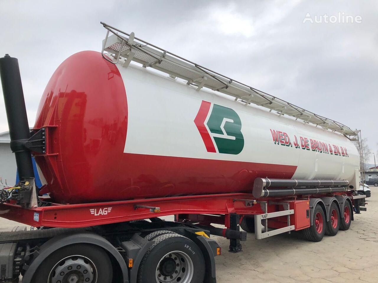 silo cisterna LAG Bulk-Tank, Tipping silo trailer