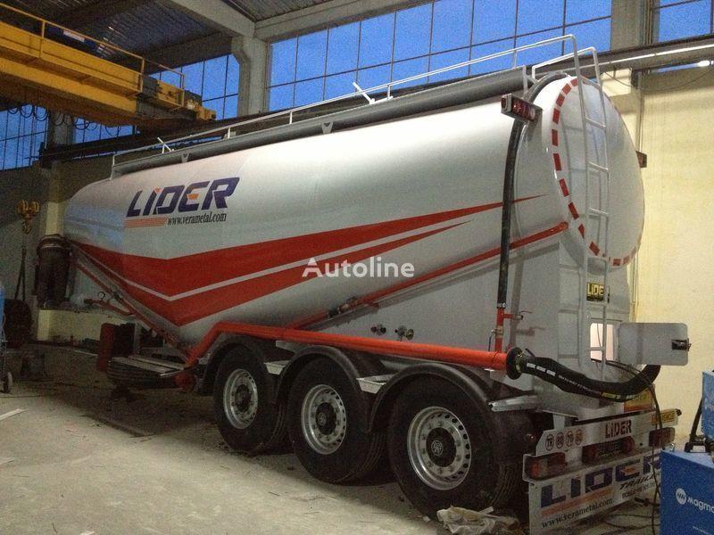 nový silo cisterna LIDER 2019 MODEL NEW(MANUFACTURER COMPANY LIDER TRAILER & TANKER )
