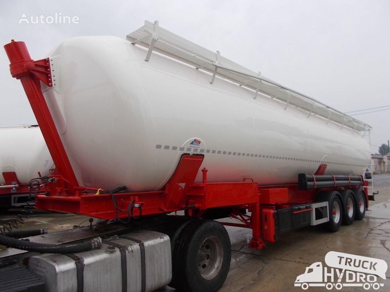 silo cisterna SPITZER SK 2459 - Własna hydraulika HS24V