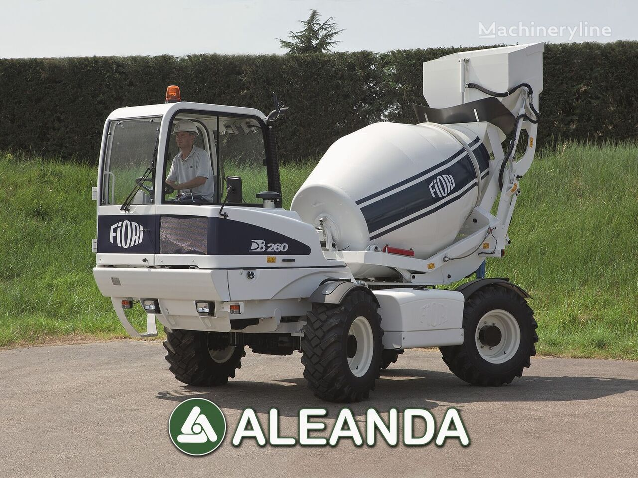 nový autodomíchávač FIORI DB 260