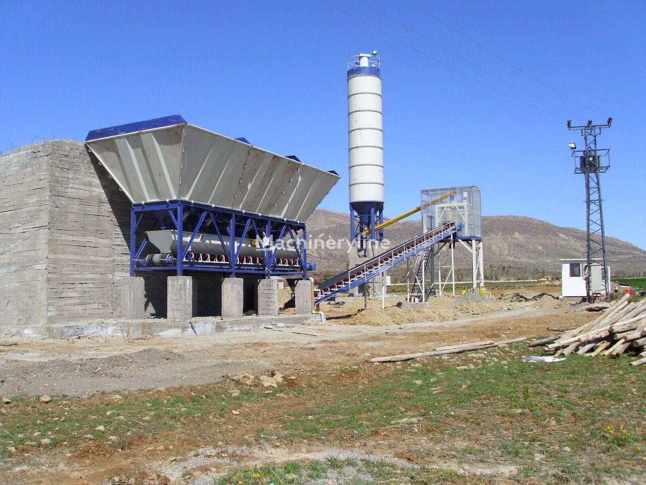 nový betonárna FABO DRY TYPE CONCRETE BATCHING PLANT