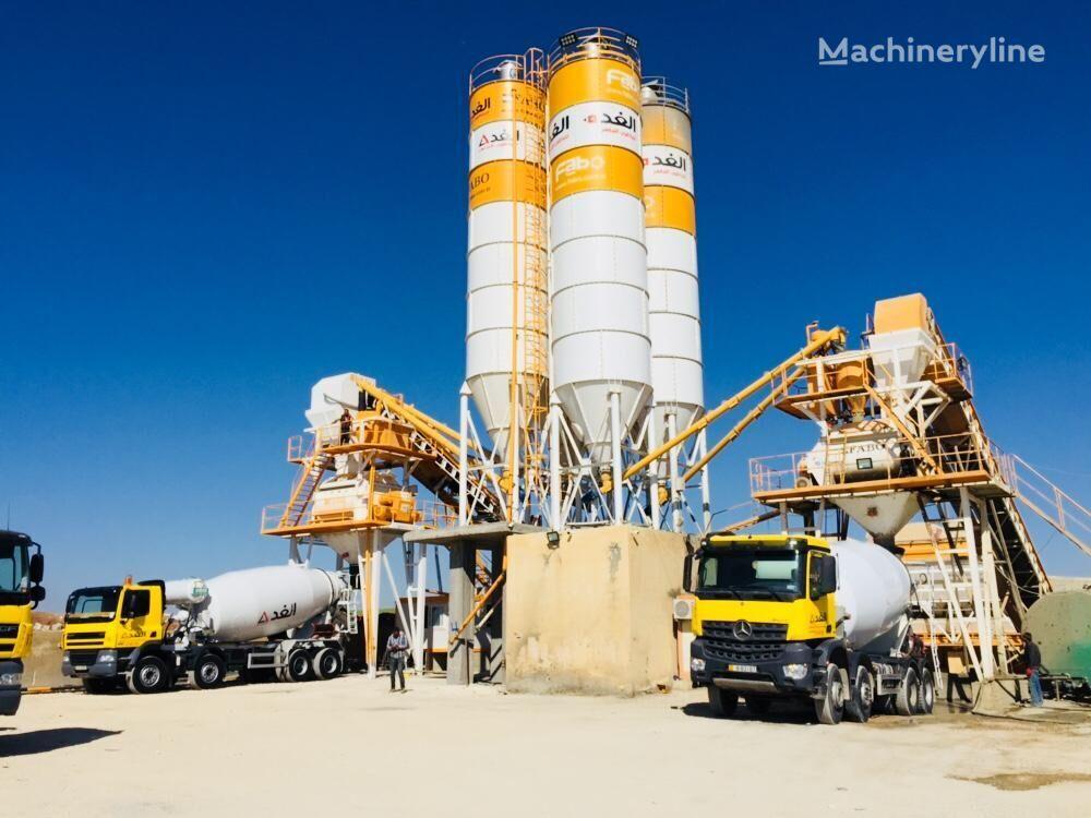 nový betonárna FABO POWERMIX-160 STATIONARY CONCRETE BATCHING PLANT