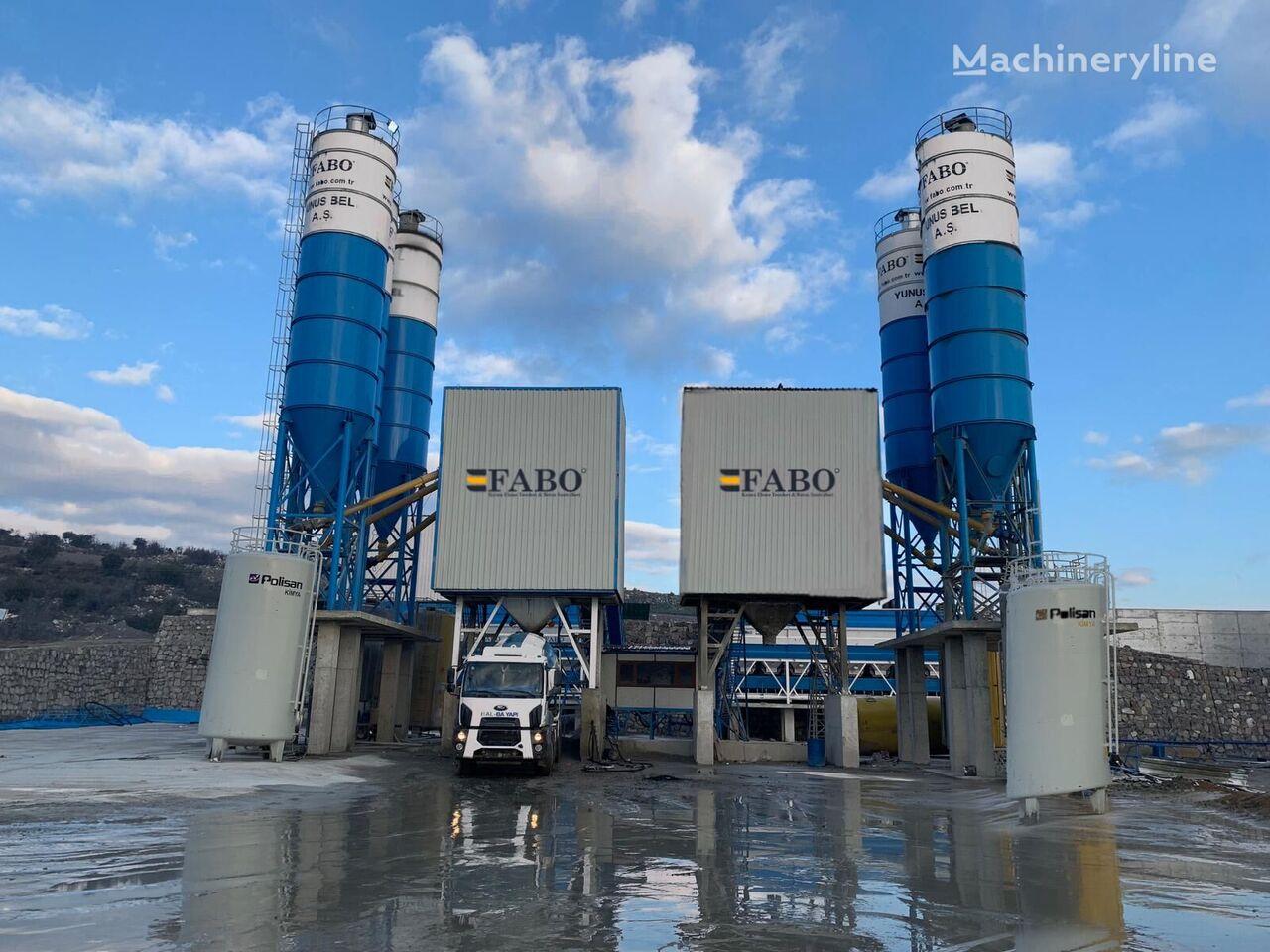 nový betonárna FABO POWERMIX-200 STATIONARY CONCRETE BATCHING PLANT