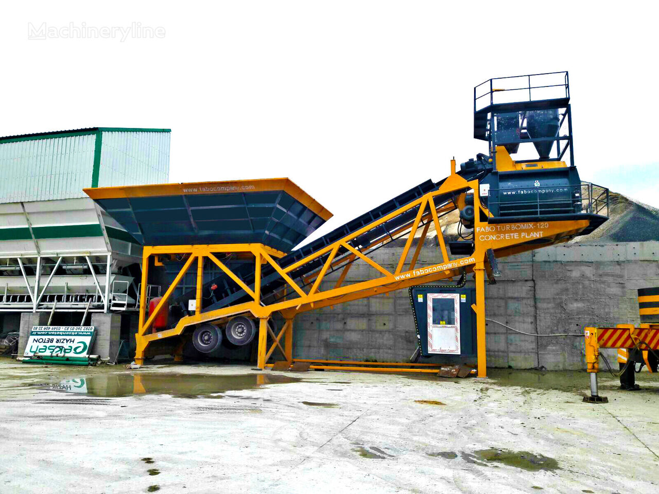 nový betonárna FABO TURBOMİX 100 CE QUALITY NEW GENERATION MOBILE CONCRETE MIXING PL