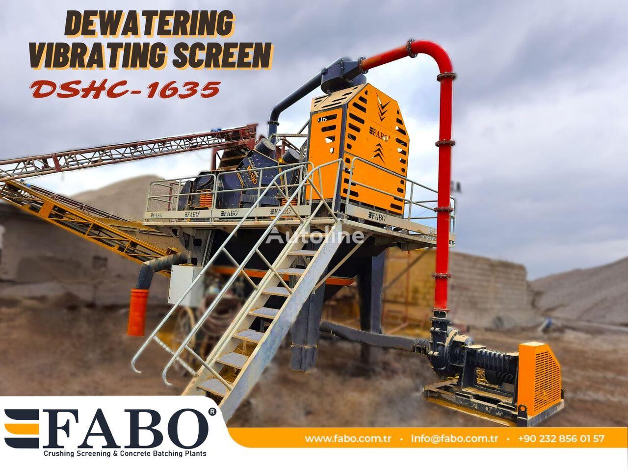nový drtič FABO DSHC-1635 DEWATERING SCREEN