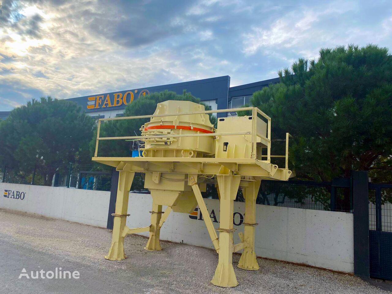 drtič FABO USED VSI-700 VERTICAL SHAFT IMPACT CRUSHER FOR SALE
