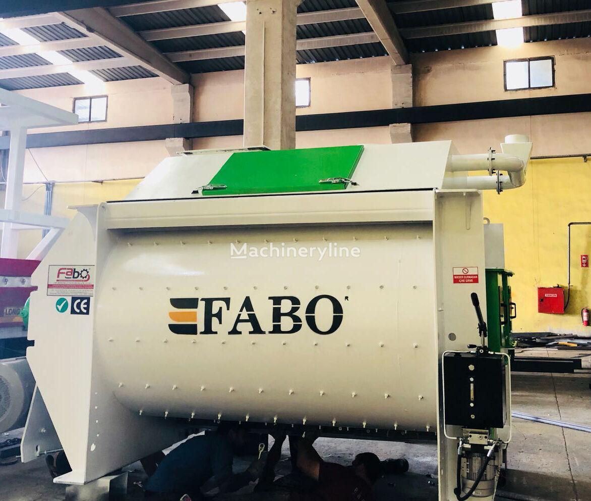 nový míchačka na beton FABO Twinshaft mixer 6m3 | High Quality Concrete Mixer
