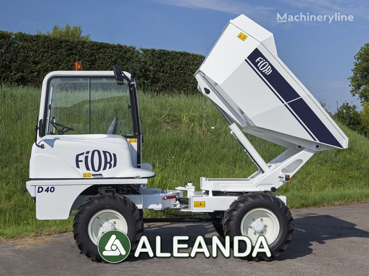 nový minidumper FIORI D 40