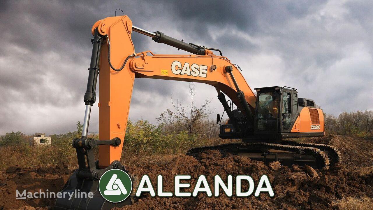 nový pásové rýpadlo CASE CX 490 C