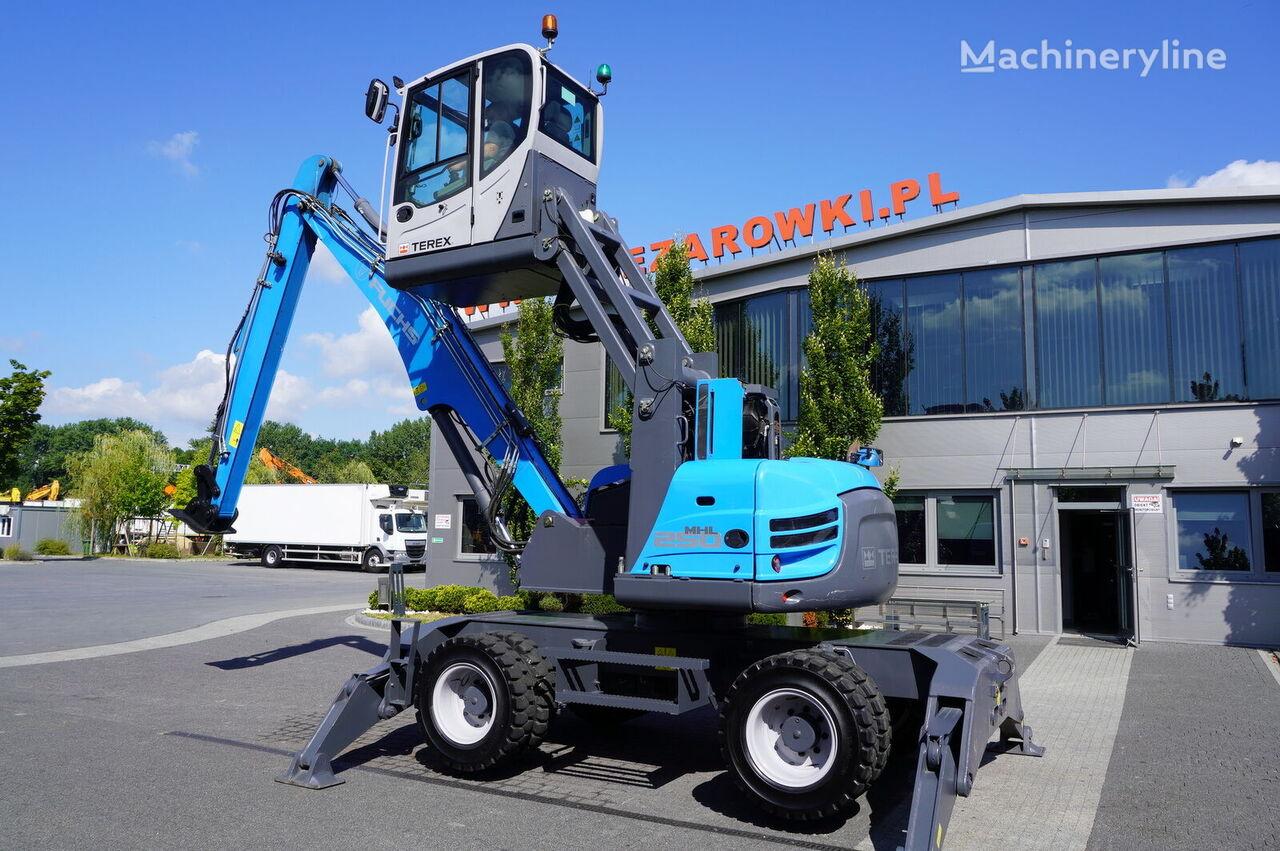 překládková rypadlo TEREX MHL 250 , 15t , roto , lift cab , hydraulic outputs , joystick ,