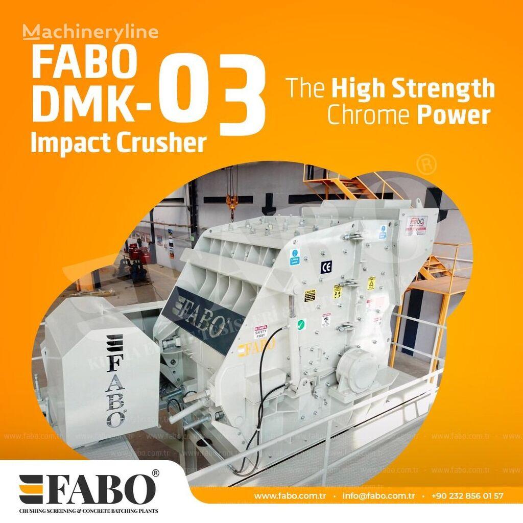 nový rázový drtič FABO DMK-03 SERIES 250-350 TPH SECONDARY IMPACT CRUSHER