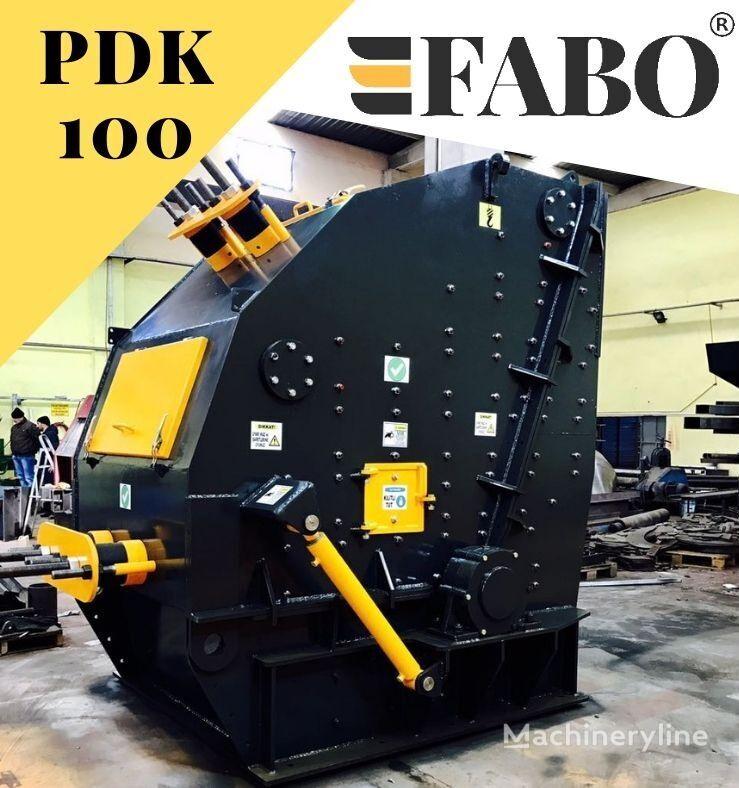 nový rázový drtič FABO PDK-100 SERIES PRIMARY IMPACT CRUSHER