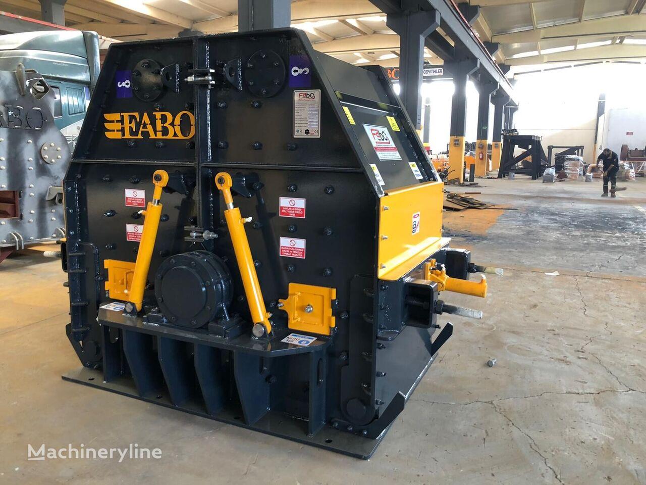 nový rázový drtič FABO TK-100 TERTIARY IMPACT CRUSHER READY IN STOCK