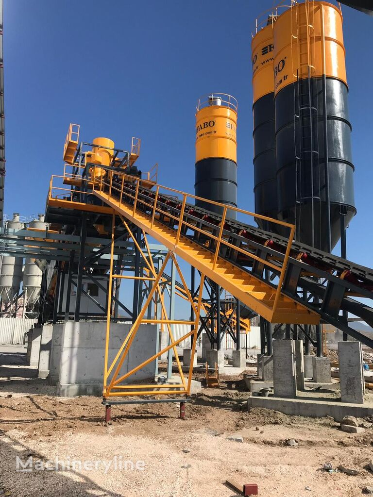 nový silo cementu FABO 100 TONS BOLTED SILO READY IN STOCK NOW BEST QUALITY, BEST MANUF