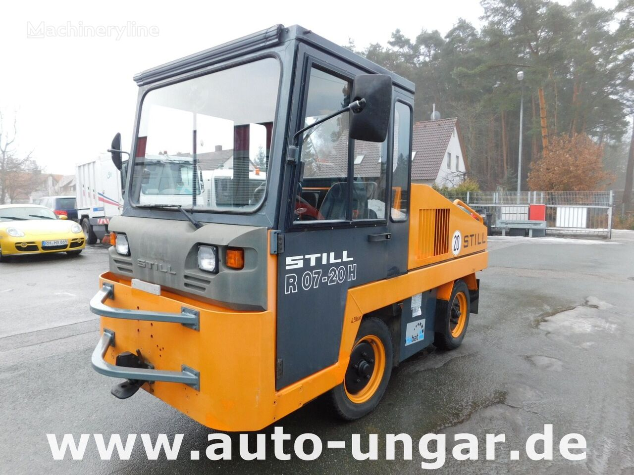 speciální tahač STILL R07-20H Hybrid Diesel - Elektro Schlepper Zugmaschine