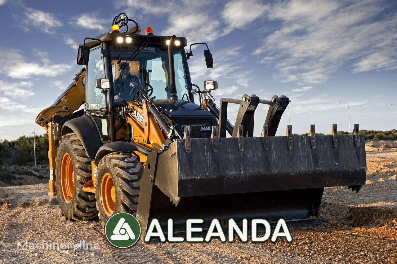 nový traktorbagr CASE 580 ST
