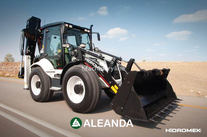 nový traktorbagr HIDROMEK  HMK 102 S ALPHA
