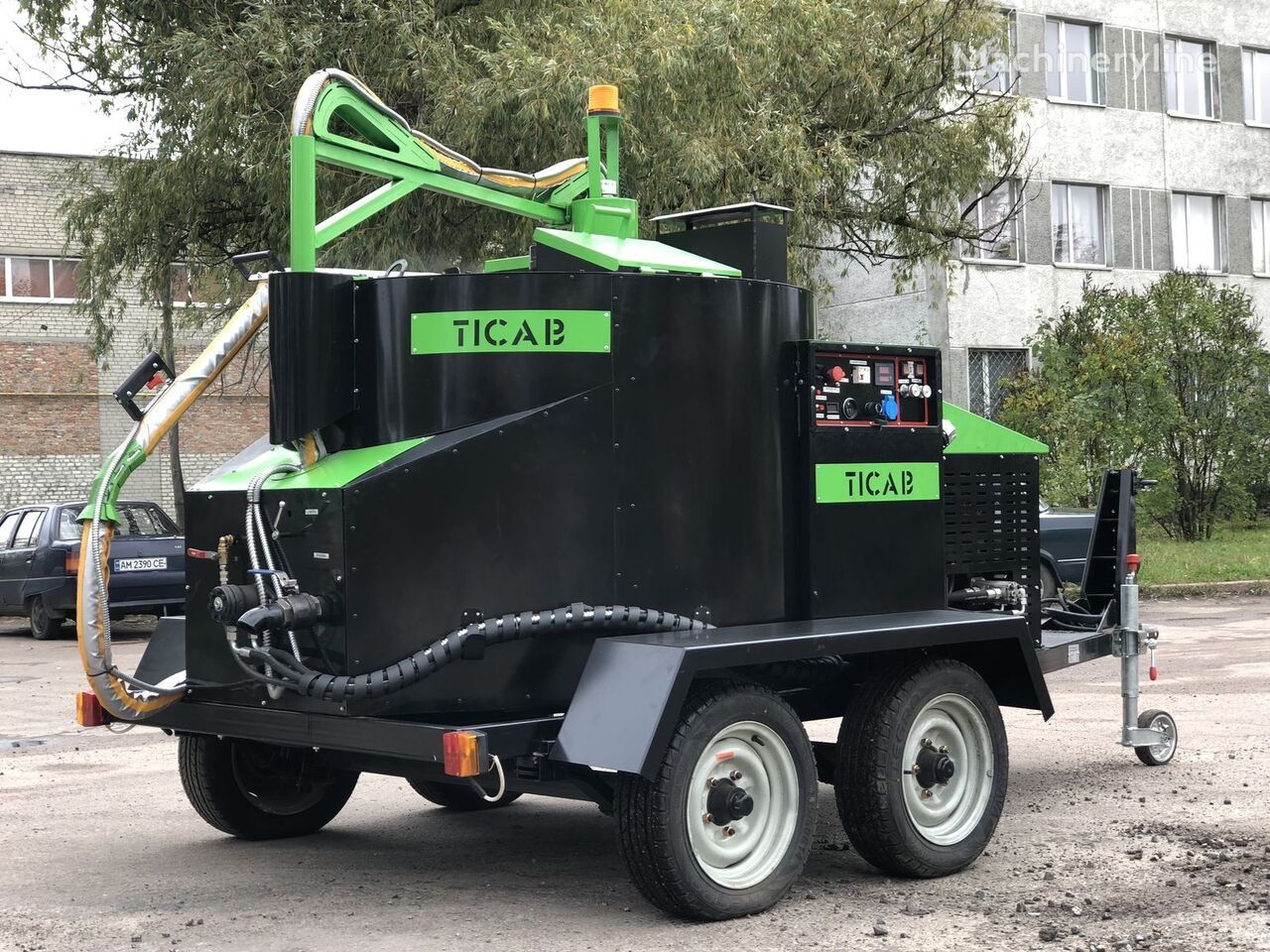 nový zálivkový stroj UN ASPHALT CRACK SEALING BPM-500