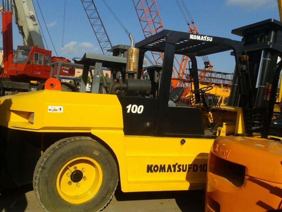 kontejnerový nakladač KOMATSU FD100T-6