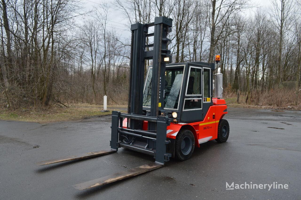 těžký vysokozdvižný vozík JUNGHEINRICH DANTRUCK 9670 5,1m 7t pozycjoner
