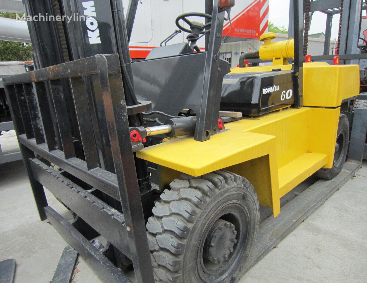 těžký vysokozdvižný vozík KOMATSU FD60