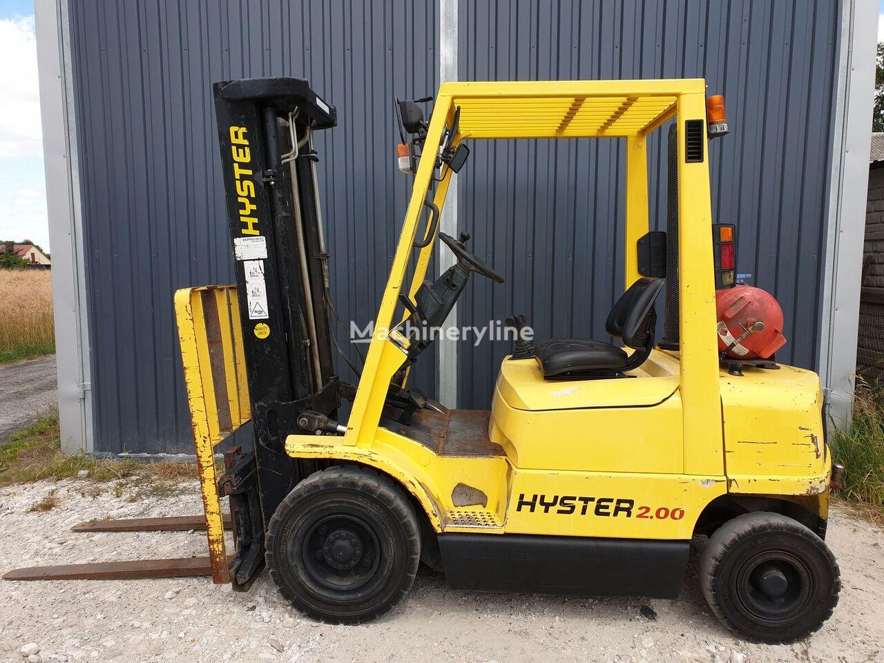 vidlicový vozík HYSTER H2.00