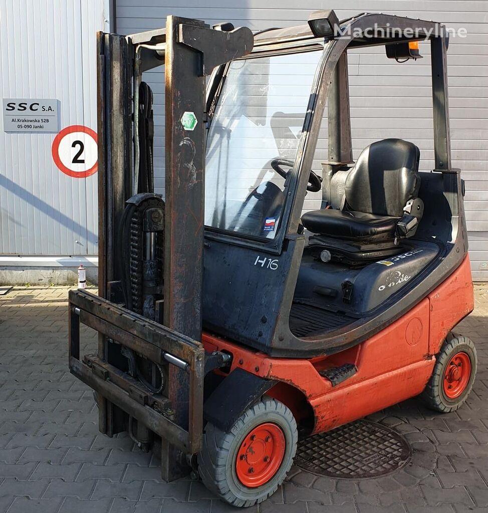 vidlicový vozík LINDE H16T