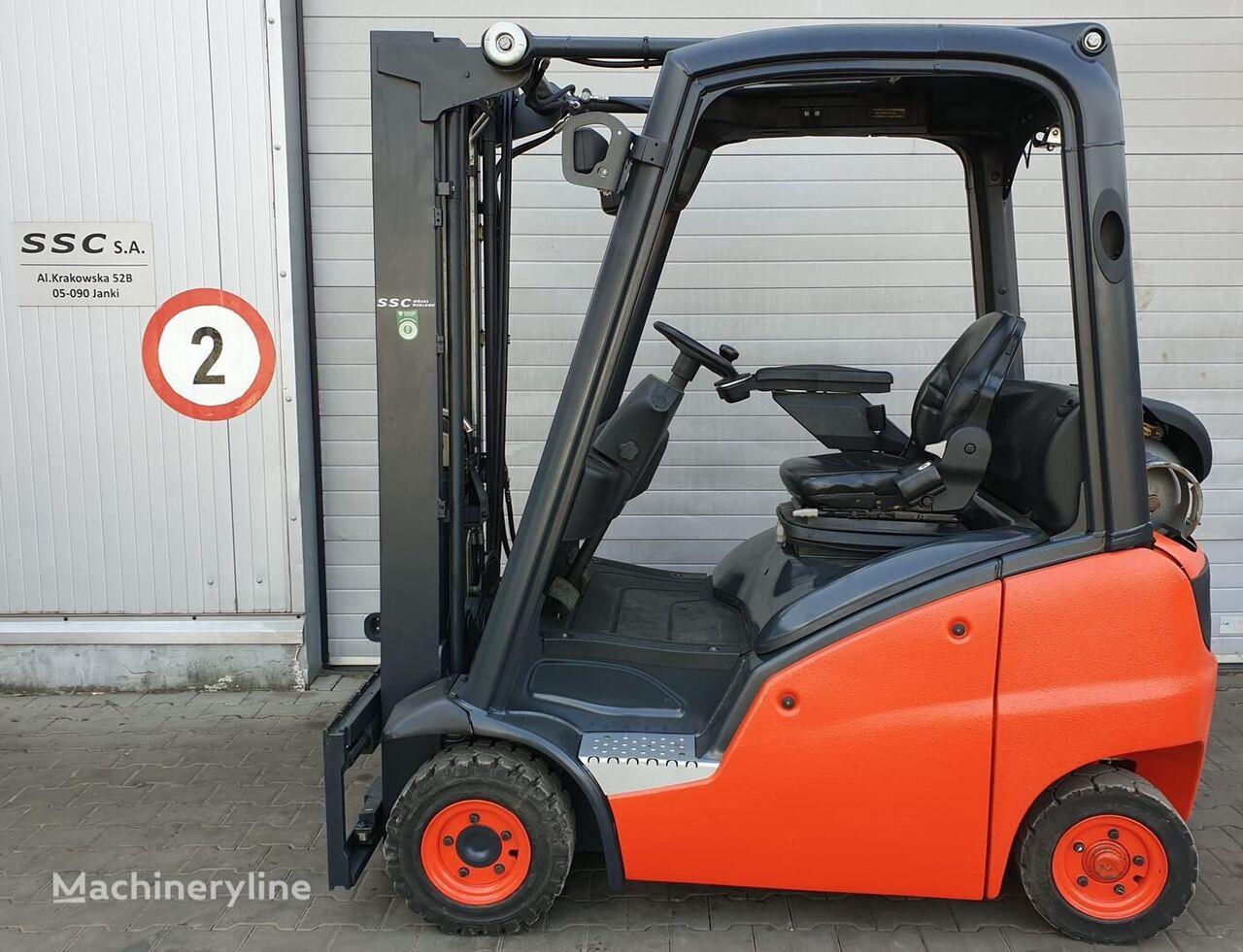 vidlicový vozík LINDE H16T, PRZESUW BOCZNY