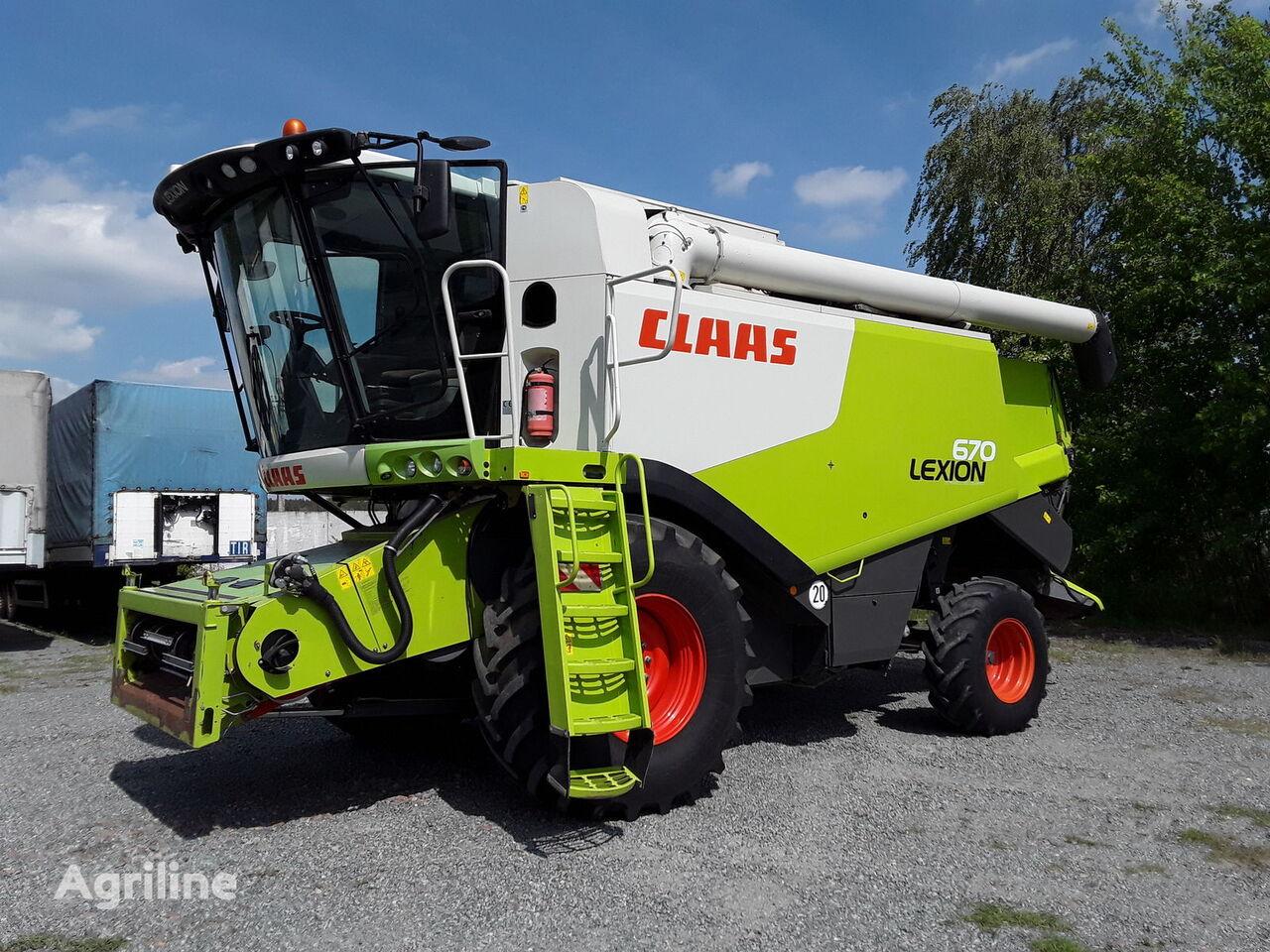 kombajn CLAAS Lexion 670